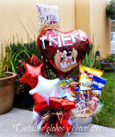 "Tina Botanera ""Detalles globos y chocolates"""