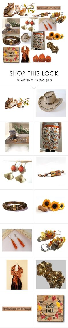 """""""Fall Inspirations"""" by therusticpelican ❤ liked on Polyvore featuring DutchCrafters, modern, contemporary, rustic and vintage"""