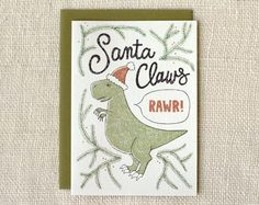 santa claws holiday card | Wit & Whistle