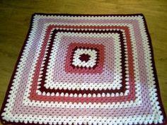 Crochet Blanket Granny style  Cuddle blanket BY nannycheryl original ID 737 (A) £40.00