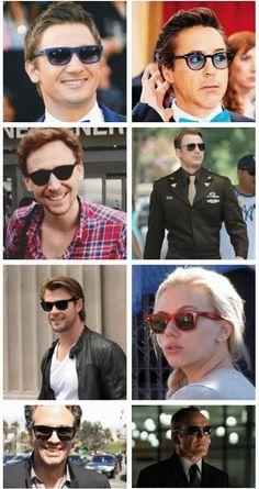 Avengers in sunglasses!
