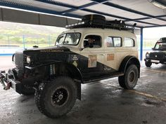 Jack Aimes and Hector McGowan – 1941 Dodge Carryall Power Wagon (Support) Small Trucks, Cool Trucks, Classic Trucks, Classic Cars, Visit Argentina, Electric Truck, Types Of Machines, Dodge Power Wagon, Ford Escort