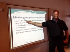 Lecturing about gambling addiction. #gambling #addiction #lecturing #students #Vantaa #Finland