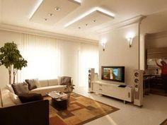 Beautiful Ceiling Designs for Livingroom