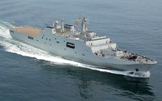 Type 071 YUZHAO Class Amphibious Transport Dock (LPD) can carry upto ...