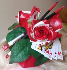 Kalandra Jane - Millinery and Musings!: Queen of Hearts