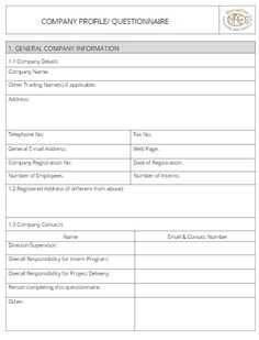 Company profile template 200 Best Resume, Free Resume, Company Profile Template, Business Profile, Business Organization, S Word, Marketing Tools, How To Introduce Yourself, Sample Resume