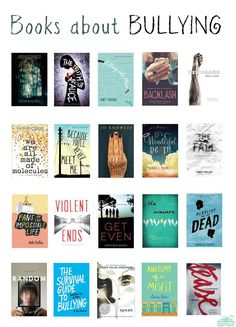 YA books about bullying: our list for 2015.