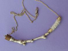 Ramas de Tejido Necklace by CarrieBilbo on Etsy, $230.00