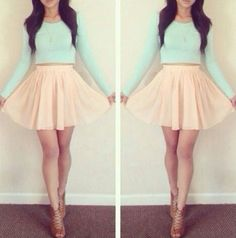 Pastel Babe || Teen Fashion ||