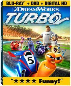 Turbo Blu-ray Combo Pack review #TurboFastFun