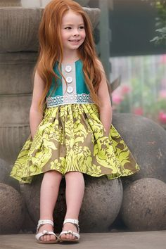 Persnickety Maggie Dress for Little Girls PREORDER $84.00