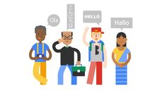 Travel With Google by LXU studio, via Behance #character
