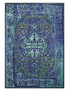 nuLOOM Reiko Rug (Blue)