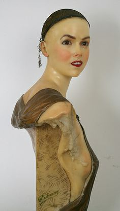 P. Imans wax bust by Tommequins, via Flickr