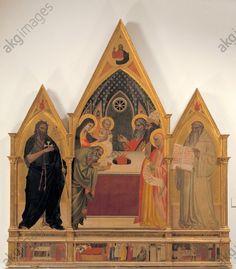Darstellung im Tempel mit den Heiligen Johannes dem Täufer