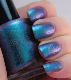 Girly Fun!! Duochrome Nail Polish by Indigo Bananas