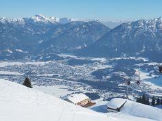 Reuttener Seilbahnen ski station in Tirol region, Austria. Suspension Bridge, Winter Is Coming, Cold Day, Winter Time, Alps, Winter Wonderland, Cold Weather, Austria, Skiing