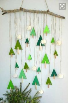 DIY Advent-Kalender-Drill-Fir-Creamalice - Famous Last Words Christmas Activities, Christmas Crafts For Kids, Christmas Art, Holiday Crafts, Christmas Decorations, Natural Christmas, Simple Christmas, Diy Jewelry Unique, Diy Jewelry To Sell