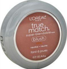 L'Oreal true match blush - N7-8 spiced plum