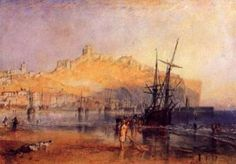 Joseph Mallord William Turner Scarborough, For The Ports of England Watercolor and graphite on paper 6 x 8 in. x cm) Tate; Accepted by the nation as part of the Turner Bequest 1856 © Tate, London 2016 Joseph Mallord William Turner, Covent Garden, A4 Poster, Poster Prints, Art Romantique, Turner Watercolors, Turner Painting, Fine Art Prints, Canvas Prints