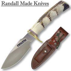 """Randall Made Model 11-4.5 Alaskan Skinner Finger Grips 4.5"""" Blade"""