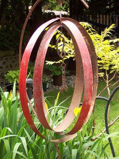 Barrel ring mobile....Christina Anderson -
