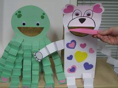 accordion animal craft idea for kids