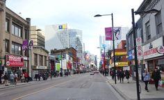 Toronto Yonge Street Yonge Street, Downtown Toronto, Street View