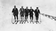 Before the Snowboard: Amazing Vintage Skiing Photos | The Weather Channel