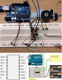 Learn how to run a CDROM brushless motor with Arduino… Arduino Controller, Arduino Uno, Arduino Board, Computer Engineering, Electronic Engineering, Electrical Engineering, Diy Electronics, Electronics Projects, Iot Projects