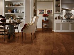 Bruce Plano Oak Saddle in. Thick x 5 in. Wide x Varying Length Solid Hardwood Flooring sq. / - The Home Depot Bruce Hardwood Floors, Types Of Hardwood Floors, Bruce Flooring, Armstrong Flooring, Wide Plank, Engineered Hardwood, Red Oak, Floor Design, Living Spaces