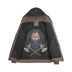 Viking Warrior Zip Hoodie – This is iT Original Viking Warrior, Zip Hoodie, Vikings, Your Style, Dots, Hoodies, Cool Stuff, The Vikings, Stitches