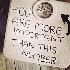 It is just a number. It does not define you as a person