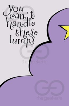 Lumpy Space Princess // Adventure Time Minimalist by TheGeekerie