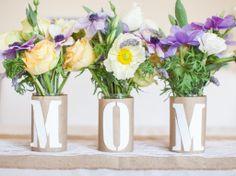 MOTHER'S DAY FLOWER VASE DIY | MeyersStyles for HGTV