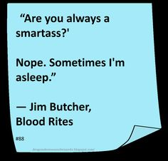 Very much looking forward to seeing  Jim Butcher at Comic Con this year  (Dresden Files)