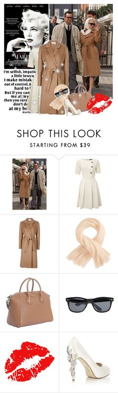 """""""""""My Week With Marliyn"""" Michelle Williams"""" by youmakemehappy7 ❤ liked on Polyvore featuring Closet, Yves Saint Laurent, Parker Blue, Givenchy, H.E.BY MANGO and HARRIET WILDE"""
