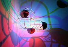 CMYK + RGB lamps by dennis parrens