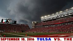 9-10-2016 GAME #2 TULSA VS. THE BEFORE THE STORM.  We were there!!!! Right Thelma!                                  Love Louise 😊