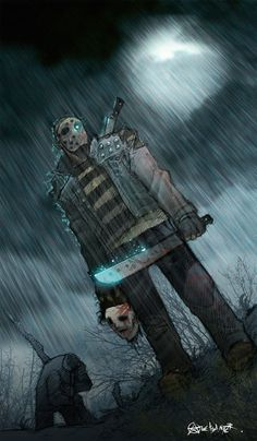 Jason vs Michael Myers - http://www.dravenstales.ch/jason-vs-michael-myers/