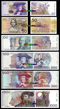 sweden currency | Sweden banknotes - Sweden money catalog and Sweden currency history