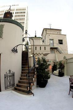 The Oviatt Penthouse. The Art Deco style is so classy