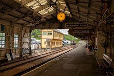 Kingswear Steam Railway Station - Photograph at BetterPhoto.com