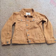 Beautiful jeans type of jacket for boys!! Size 5/6 Great condition. Worn it twice only Childrens place Jackets & Coats Jean Jackets