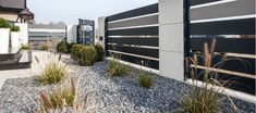 Nowoczesne Ogrodzenie Shades of grey Gate Design, House Design, Boundary Walls, Sliding Gate, Front Yard Fence, Modern Fence, Entrance Gates, Shades Of Grey, Pergola