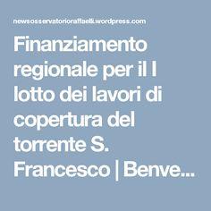 Finanziamento regionale per il I lotto dei lavori di copertura del torrente S. Francesco | Benvenuti sul sito delle News dell'Osservatorio Raffaelli fondato nel 1883 a Bargone di Casarza Ligure (Genova)