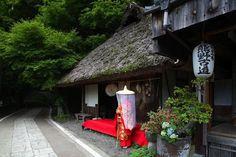Toganoki Tea House, Kumano Kodo pilgrimage route, Wakayama prefecture, Japan photo