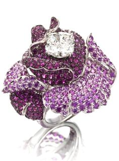 Gold, ruby, sapphire and diamond ring by Picchiotti ❥❥HT