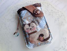 Handmade mobile phone pouch for Samsung,HTC,LG,Nokia,Sony,Nexus 4,...etc